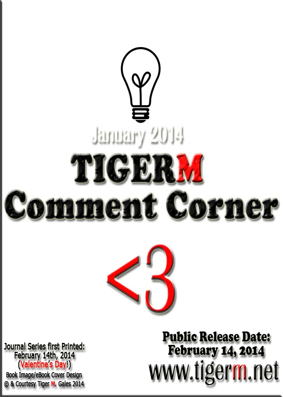 TIGERM.NET - Comment Corner (( Book Image )) [ eBook Series Cover - January 2014 ]