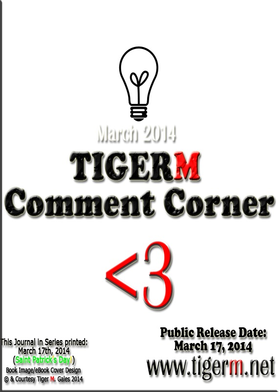 TIGERM.NET - Comment Corner (( Book Image )) [ eBook Series Cover - March 2014 ]